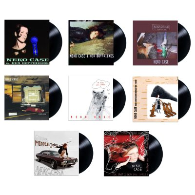 "neko-case - ""TRUCKDRIVER, GLADIATOR, MULE"" Vinyl Box Set"
