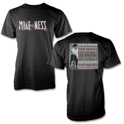 mike-ness - Dateback Winter 2008 T-Shirt (Black)
