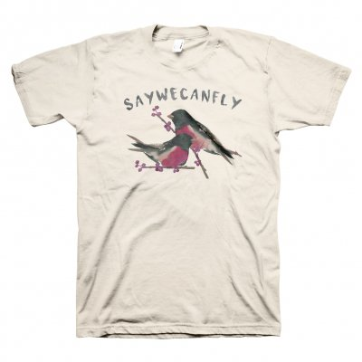 saywecanfly - Calendar Birds Tee - Choose Your Lyric Line!