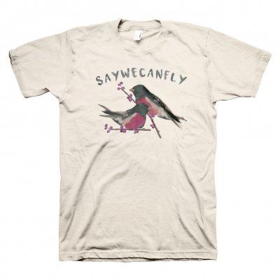 SayWeCanFly - Calendar Birds Tee - Choose Your Lyric Line!