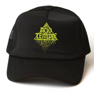TRVE Brewing Company - Acid Temple Trucker Hat (Black)