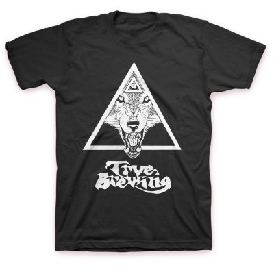 TRVE Brewing Company - Year Of The Wolf T-Shirt (Black)