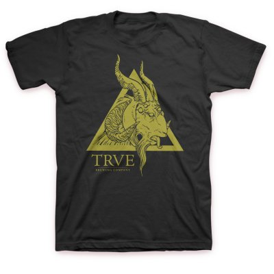 TRVE Brewing Company - Year Of The Goat T-Shirt (Black)