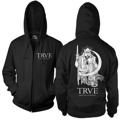trve-brewing-company - MMXV Zip Up Sweatshirt (Black)