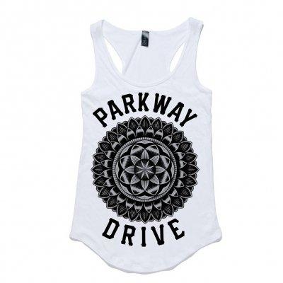 parkway-drive - Mandala Racerback Tank (Women's)