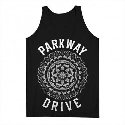 parkway-drive - Mandala Tank (Black)