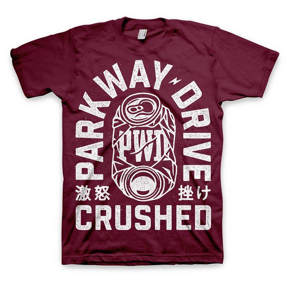 IMAGE   Crushed Can T-Shirt (Magenta)