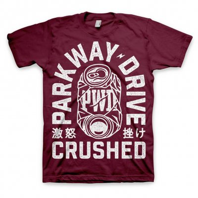 parkway-drive - Crushed Can T-Shirt (Magenta)