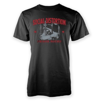 social-distortion - Prison Bound T-Shirt (Black)