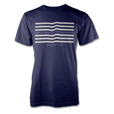 the-dear-hunter - Waves T-Shirt (Navy Blue)