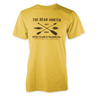 the-dear-hunter - Camp T-Shirt (Yellow)