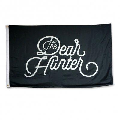 the-dear-hunter - Cursive Logo Flag