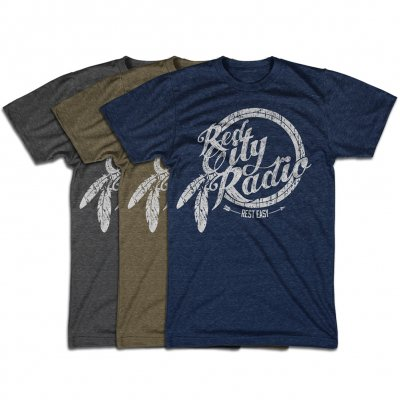 Red City Radio - Custom Color Rest Easy Tee