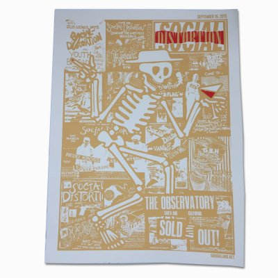 social-distortion - Santa Ana - The Observatory Screen Print (9/15)