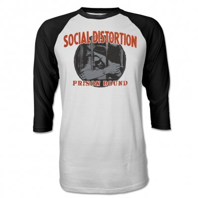 social-distortion - Prison Bound S/S Raglan