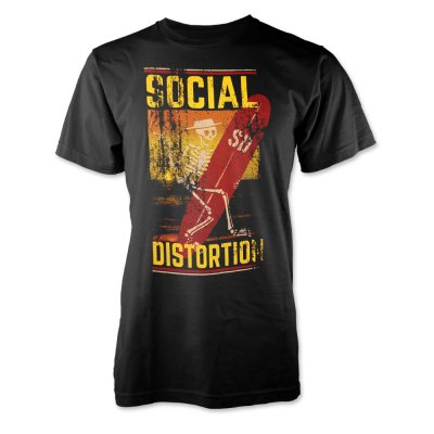 social-distortion - Surfin' T-Shirt (Black)