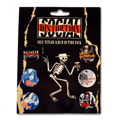 Social Distortion - Summer '15 Button Pack