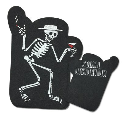 Social Distortion - Skelly Foam Hand