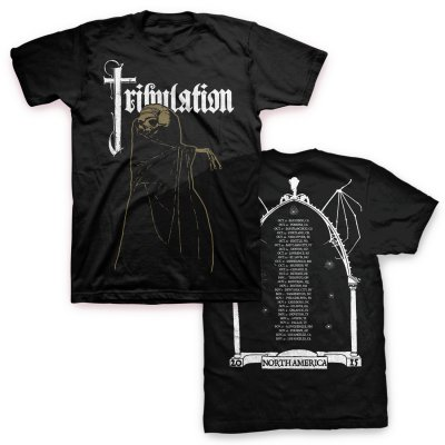 tribulation - 2015 Tour T-Shirt (Black)