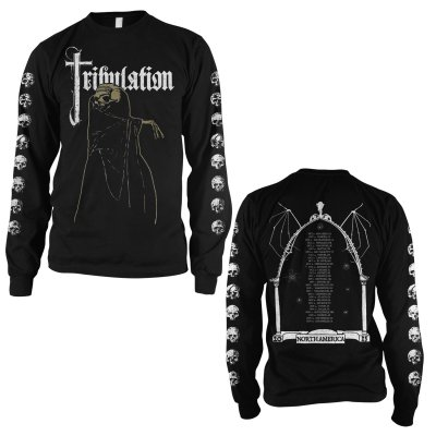 tribulation - 2015 Tour Longsleeve T-Shirt (Black)