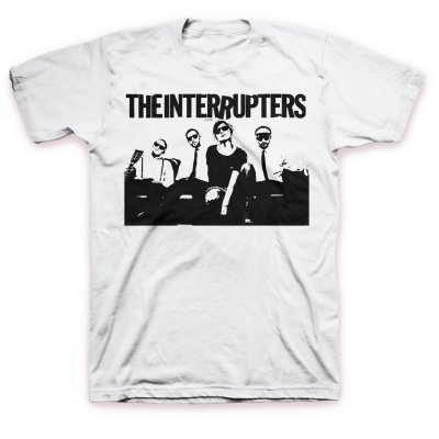The Interrupters - Band Photo T-Shirt (White)