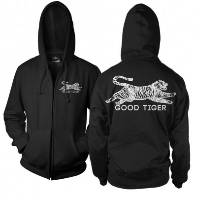 good-tiger - Tiger Zip Up Hoodie