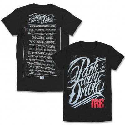 Parkway Drive - IRE North American Tour Tee (Womens)
