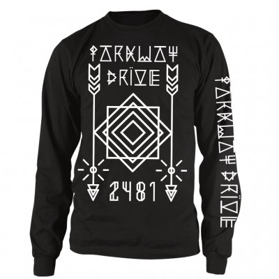 Parkway Drive - Arrows Long Sleeve Tee