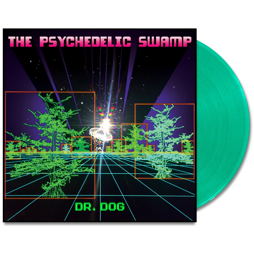 IMAGE | The Psychedelic Swamp LP (Translucent Green)