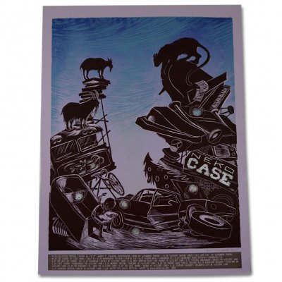 neko-case - 2008 Summer Tour Print