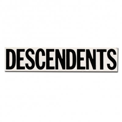 Descendents - Logo Sticker - Black