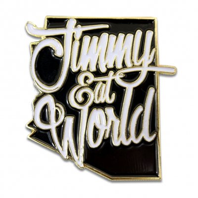 jimmy-eat-world - Arizona Enamel Pin