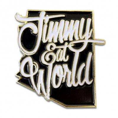 Jimmy Eat World - Arizona Enamel Pin