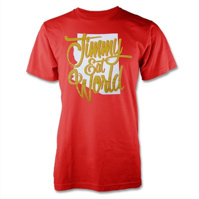 Jimmy Eat World - Arizona T-Shirt (Cardinal Red)