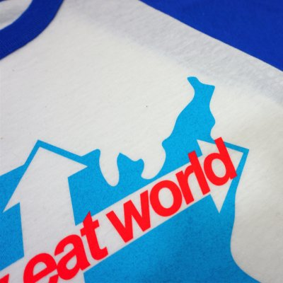 jimmy-eat-world - Across America Raglan (Royal Blue)