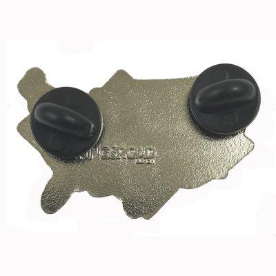 Across America Enamel Pin