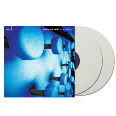 Jimmy Eat World - Static Prevails 2xLP (Opaque White)