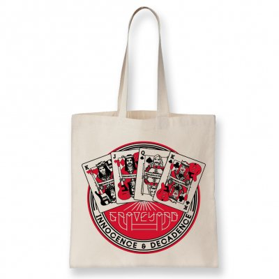 Graveyard - Cards Tote Bag (Natural)