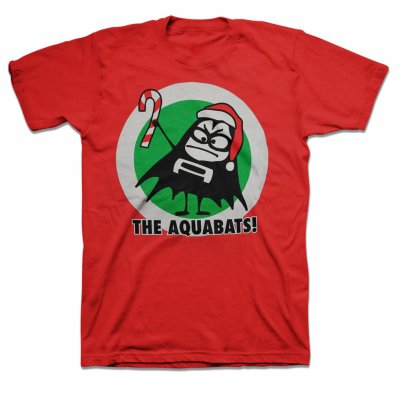 the-aquabats - Christmas Bat Tee (Youth T-Shirt)