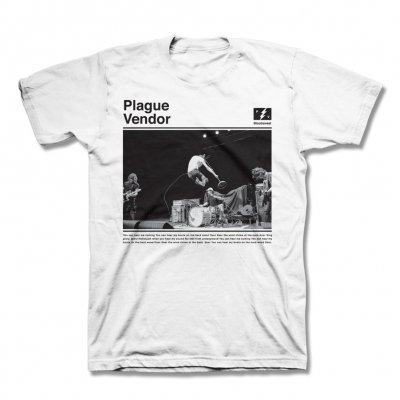 plague-vendor - Live Photo T-Shirt (White)