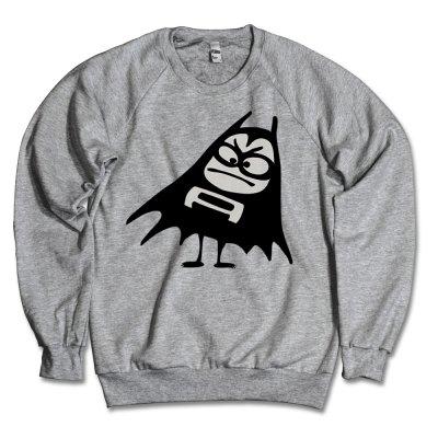 the-aquabats - Bat Crew Neck (Heather Grey)