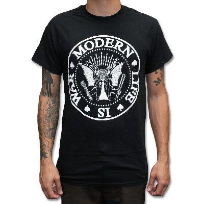 modern-life-is-war - Dead Ramones Tee - Black