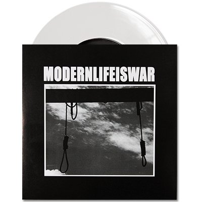 "Modern Life Is War - Self Titled 7"" - White"