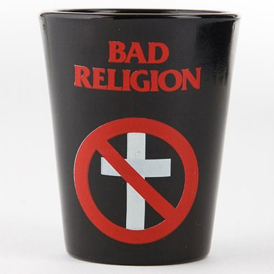 Bad Religion - BR Cross Buster Shot Glass