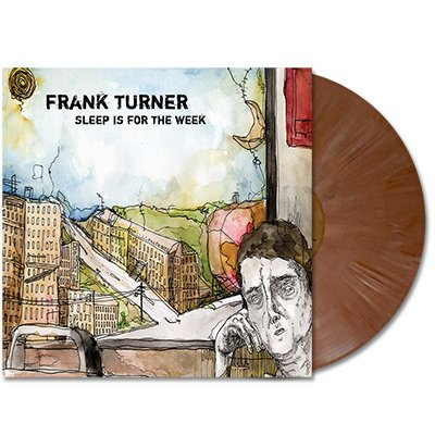 Frank Turner - Sleep Is For The Week - LP (Brown)