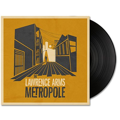 The Lawrence Arms - Metropole - LP (Black)