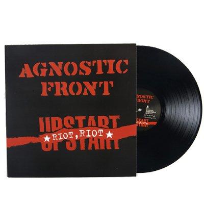 Agnostic Front - Riot, Riot, Upstart LP