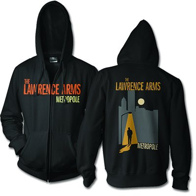The Lawrence Arms - Metropole Zip-Up Hoodie