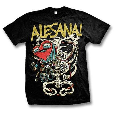 Alesana - Alesana Skeleton Tee