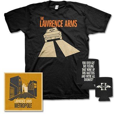 The Lawrence Arms - Metropole Car Tee & CD Bundle